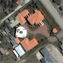 Satellite image of Maguindanao Gov. Andal Ampatuan's mansion in Shariff Aguak, Maguindanao
