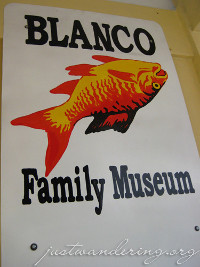 Logo of the Blanco Family Museum