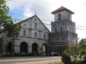 Facade of the Baclayon Church