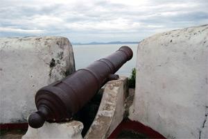 Photo of a canon at Kutang San Diego