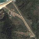 Satellite image of El Nido Airport in Palawan