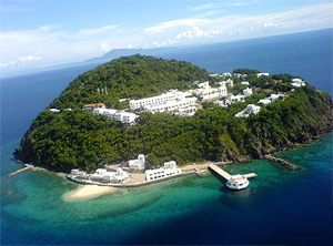 Aerial view of Bellarocca Island Resort and Spa