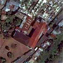 Satellite image of the Our Lady of Peñafrancia Shrine in Naga City