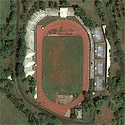 Satellite image of the Ramon V. Mitra, Jr. Sports Complex in Puerto Princesa City