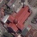 Satellite image of the Jaro Metropolitan Cathedral at Jaro, Iloilo City