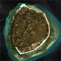 Satellite image of Pamilacan Island in Bohol
