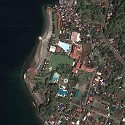 Satellite image of the White Rock Beach Hotel in Subic, Zambales
