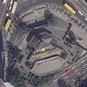 Satellite image of Our Lady of Edsa Shrine in Quezon City