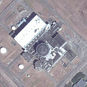 Satellite image of Bataan Nuclear Power Plant in Morong, Bataan