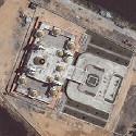 Satellite image of the Grand Mosque in Cotabato City