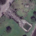 Satellite image of the MacArthur Landing Memorial in Palo, Leyte