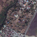 Satellite image of Fort Sto. Domingo in Sta. Rosa City, Laguna