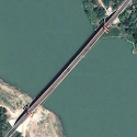 Satellite image of Magapit Suspension Bridge in Lal-lo, Cagayan