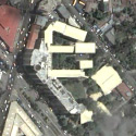 Satellite view image of the main campus of Ateneo de Davao University in downtown Davao City.