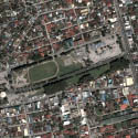 Satellite view image of the Bayanihan Park in Angeles City.