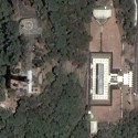 Satellite photo of Mt. Samat Shrine (Dambana ng Kagitingan) in Pilar, Bataan