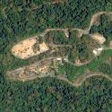 Satellite image of Zoobic Safari at the Subic Bay Freeport Zone.